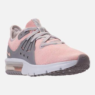 Nike Girls' Big Kids' Sequent 3 Running Shoes