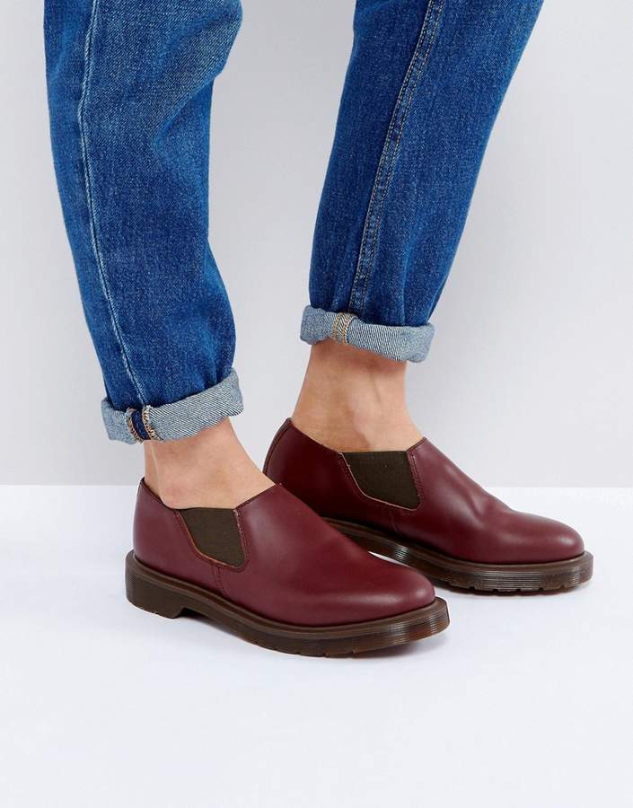 Dr. Martens Dr Martens Louis Leather Flat Shoe