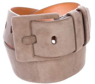 Ralph Lauren Suede Buckle Belt
