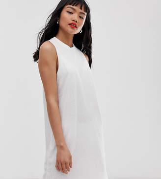Asos DESIGN Petite slub tank dress