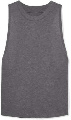 Alo Yoga Heat Wave Ribbed Jersey Tank - Gray