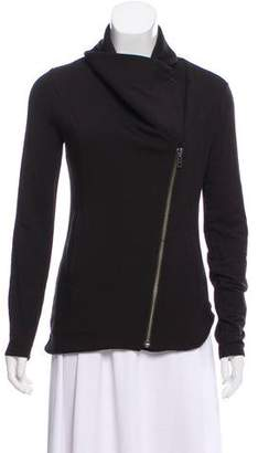 Helmut Lang Cropped Zip-Up Jacket