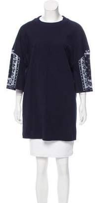Cinq à Sept Mini T-Shirt Dress
