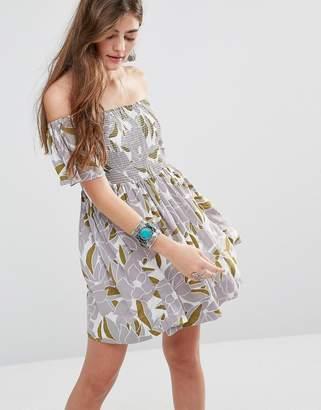 Free People Louse Off Shoulder Dress $57 thestylecure.com