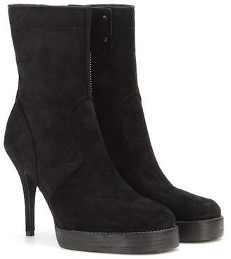 Rick Owens Classic Stiletto suede boots