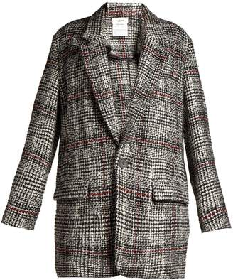 Etoile Isabel Marant Erix checked tweed blazer