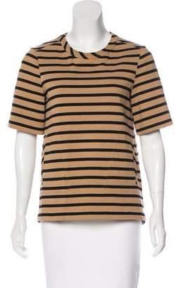 Belstaff Striped Short Sleeve Top