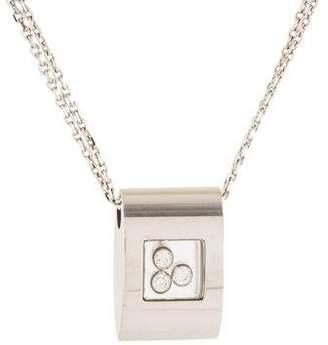 Chopard 18K Diamond Pendant Necklace