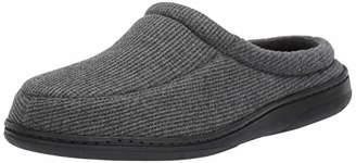 Amazon Essentials Men's Slipper With Memory Foam, Grey, 13-14 M US