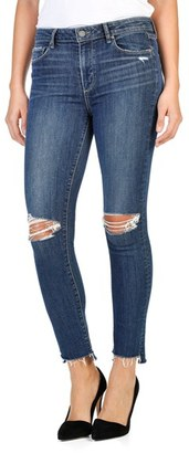 Women's Paige Hoxton High Waist Ankle Peg Skinny Jeans $239 thestylecure.com