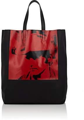 "Calvin Klein Men's ""Dennis Hopper"" Leather Tote Bag"