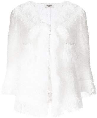 Charlott fringe knit jacket