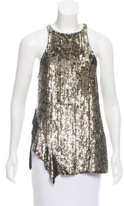 3.1 Phillip Lim Embellished Silk Top
