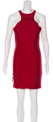 DSQUARED2 Virgin Wool Mini Dress