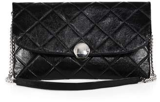 Marc Jacobs Quilted-Leather Jean Shoulder Bag