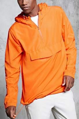 Forever 21 Hooded Anorak Jacket