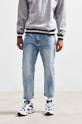 Dr. Denim Otis Light Blue Acid Wash Cropped Jean