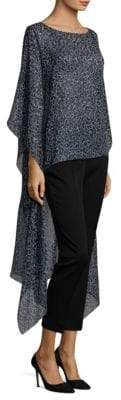 Michael Kors Collection Floral Silk Tunic