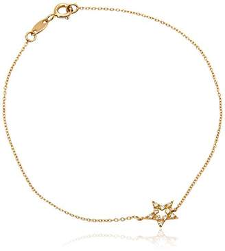 Diamonds & You Bracelet Necklace Yellow Gold 18 cts Vendôme Diamond 0.2 cts 18 cm-AM- now CIRC 020 J QWjwO