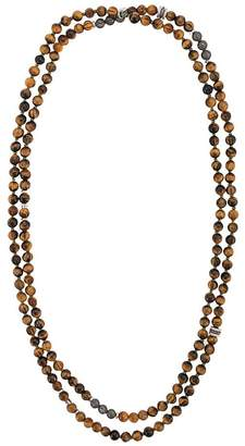 Tateossian mesh beaded necklace