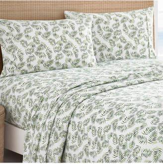 Caribbean Joe Cathay Home Inc. Microfiber Print Solid Sheet Set Bedding