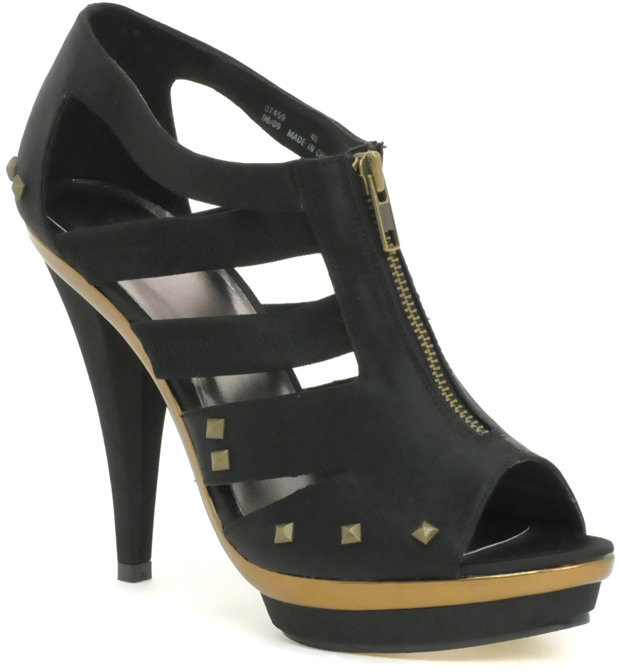Miss KG Marilyn Zip-Front Sandal