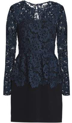 Rachel Zoe Guipure Lace Peplum Mini Dress