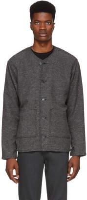 Naked & Famous Denim Denim Grey Chore Jacket