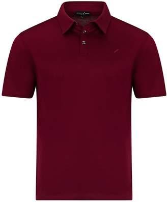 Benedict Raven Monaco Polo Shirt Burgundy