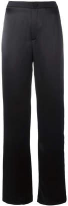 Lanvin striped wide leg trousers