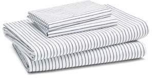 Kate Spade Skinny Stripe Sheet Set, California King