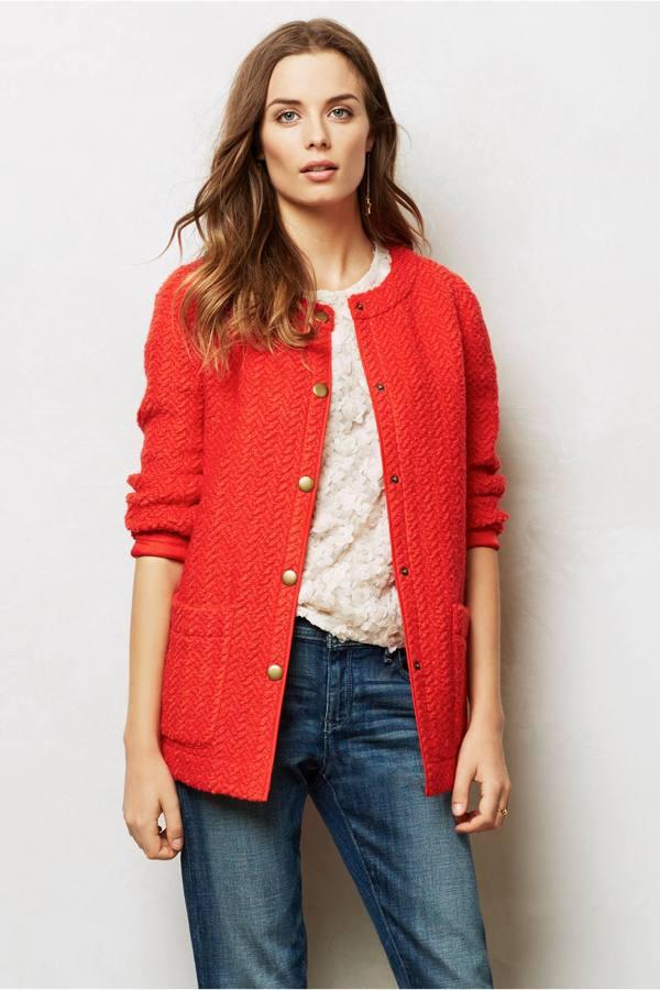 Anthropologie Field Guide Sweater Coat