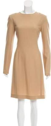 The Row Knee-Length Wool Dress