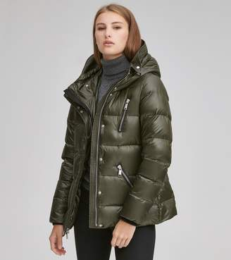 Andrew Marc Final Sale CHLOE QUILTED DOWN JACKET