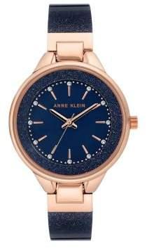 Anne Klein Swarovski Crystal Strap Watch