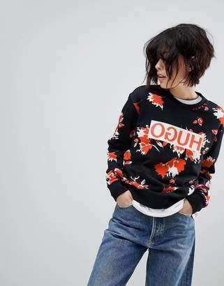 HUGO Signature Printed Sweater