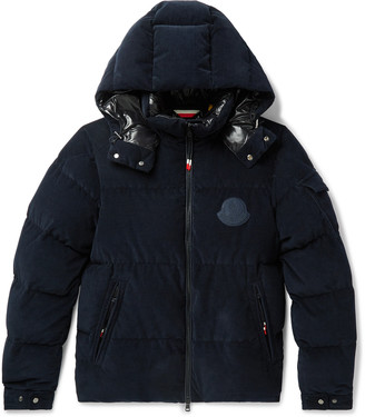 Moncler Genius - 2 1952 Quilted Cotton-Corduroy Hooded Down Jacket - Men - Blue