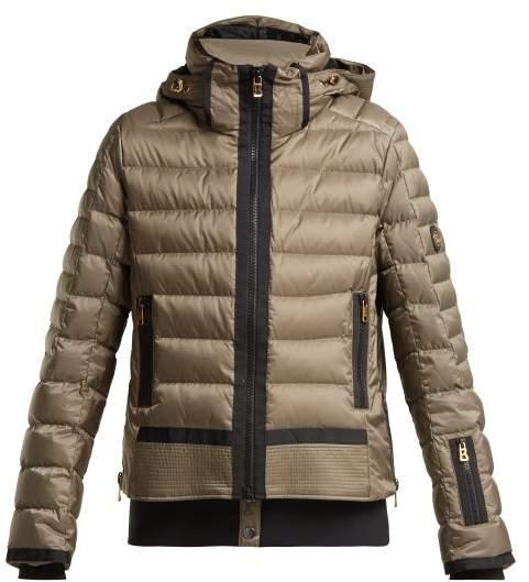Muriel Down Filled Padded Ski Jacket - Womens - Khaki