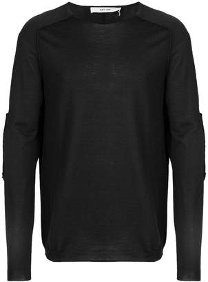 Damir Doma patch sleeves jumper