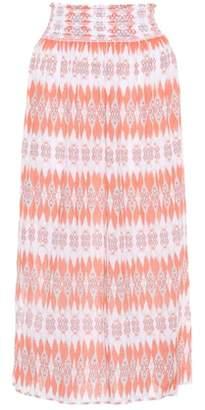Heidi Klein Printed cotton skirt