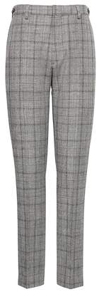 Banana Republic BR x Kevin Love | Athletic Tapered Plaid Suit Pant