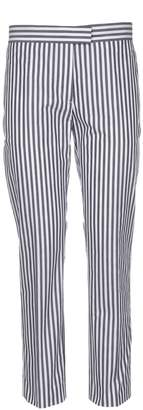Paul Smith Striped Slim-fit Cropped Trousers