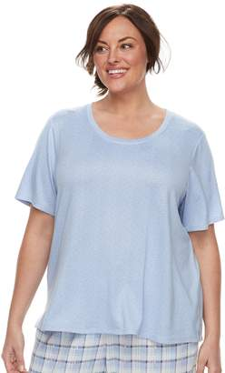 Croft & Barrow Plus Size Crewneck Tee