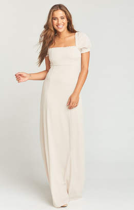 Show Me Your Mumu Brittany Maxi Dress ~ Show Me the Ring Crisp