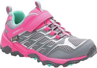 Merrell Moab FST Low A/C Waterproof Hiking Shoe - Toddler Girls'