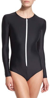 Cover UPF 50 Long-Sleeve Zip Swimsuit
