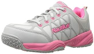 Nautilus 2155 Women's Comp Toe Light Weight Slip Resistant Safety Toe Athletic Shoe