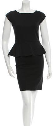 Alice + Olivia Bodycon Peplum Dress $65 thestylecure.com