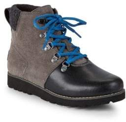 UGG Little Boy's Hilmar Waterproof Leather & Suede Boots