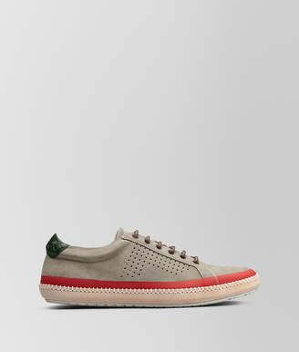 Bottega Veneta DARK CEMENT SUEDE FELLOWS SNEAKER